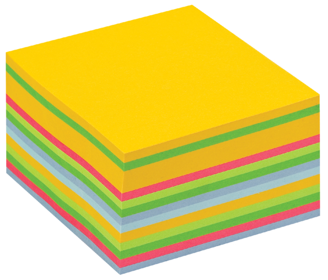 Memoblok 3M Post-it 2030 76x76mm kubus ultra assorti