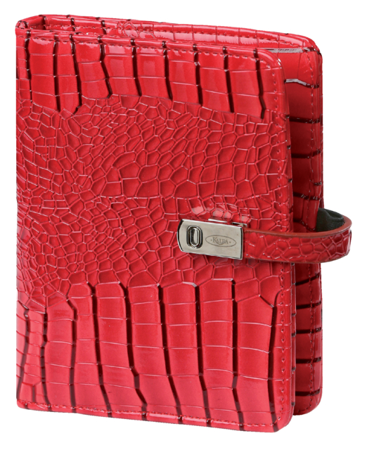 Agenda 2020-2021 organizer Kalpa Pocket Junior gloss-croco rood