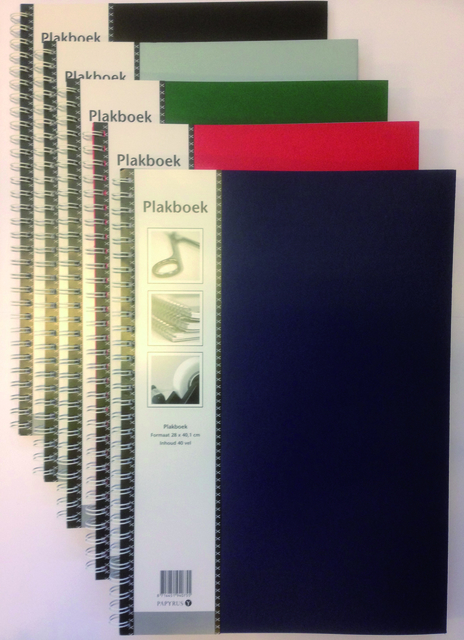 Plakboek Papyrus 400x280mm 40vel assorti