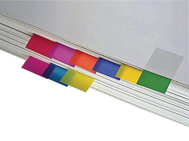 Indextabs 3M Post-it 680 25.4x43.2mm geel