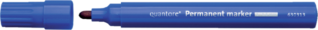Permanent marker Quantore rond 1-1.5mm blauw