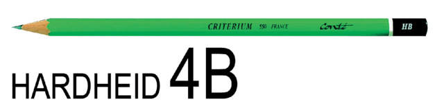 Potlood Bic Criterium 550 4B