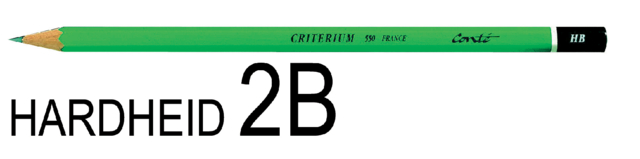 Potlood Bic Criterium 550 2B