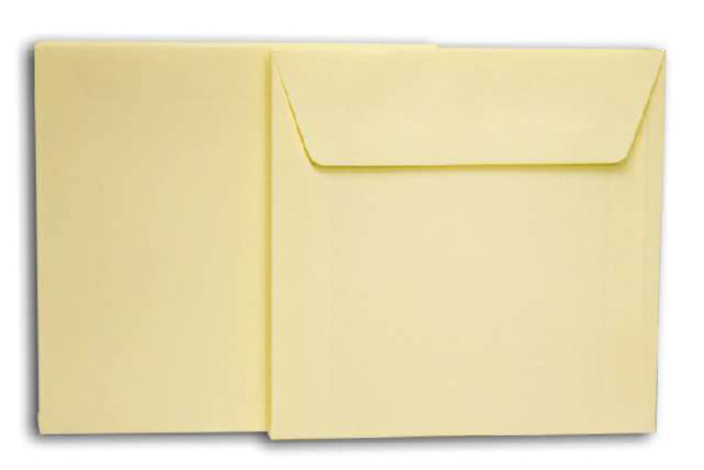 Envelop Papyrus 140x140mm wit