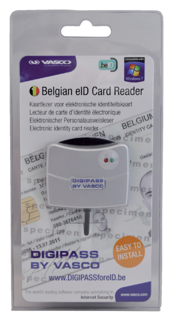 Kaartlezer Vasco Digipass 905 EID grijs
