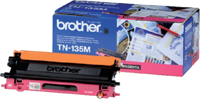 Tonercartridge Brother TN-135M rood