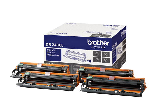 Drum Brother DR-243CL zwart + 3 kleuren