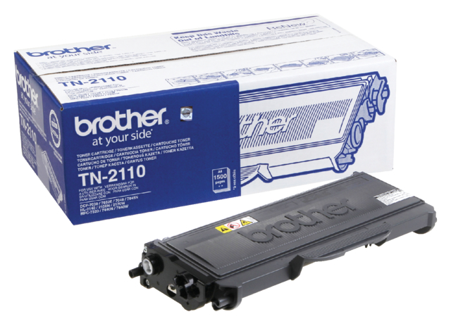 Tonercartridge Brother TN-2110 zwart