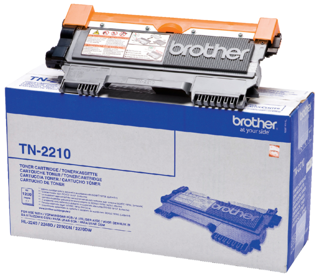 Tonercartridge Brother TN-2210 zwart