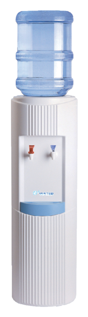 Waterdispenser O-water warm en koud wit
