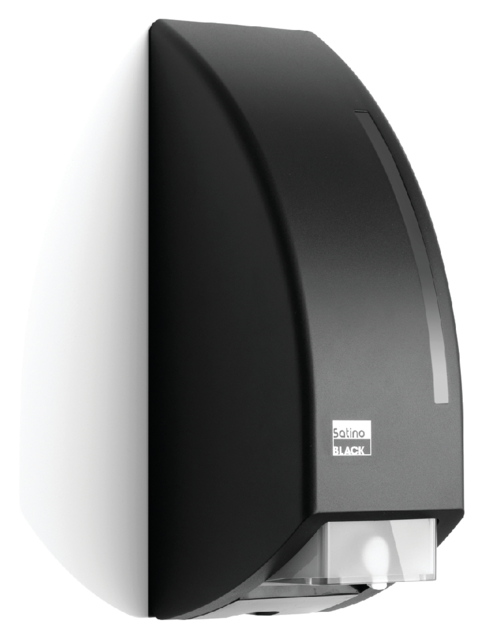 Dispenser Satino Black voor zeep