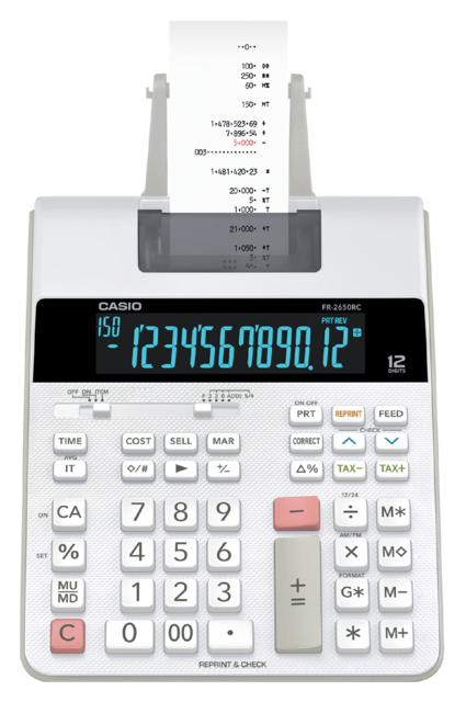Rekenmachine Casio FR-2650RC